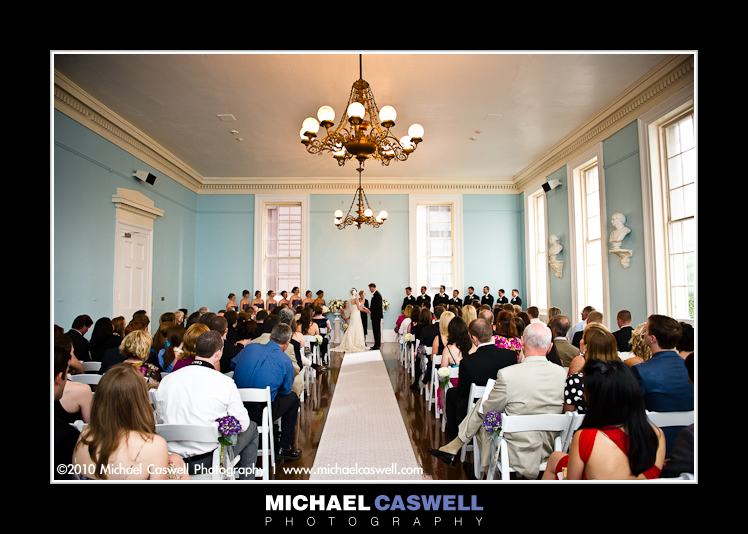 gallier hall wedding ceremony photo