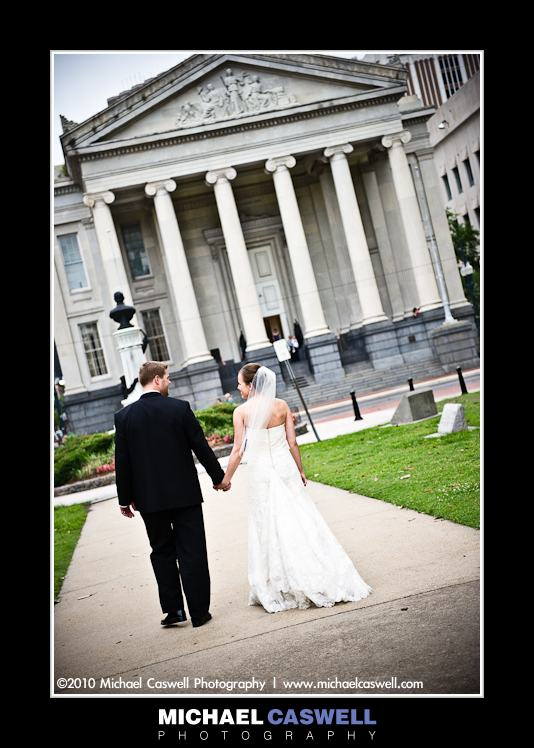 photo of gallier hall wedding