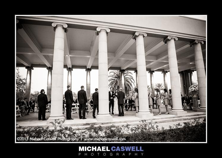 New Orleans City Park Peristyle Wedding Ceremony
