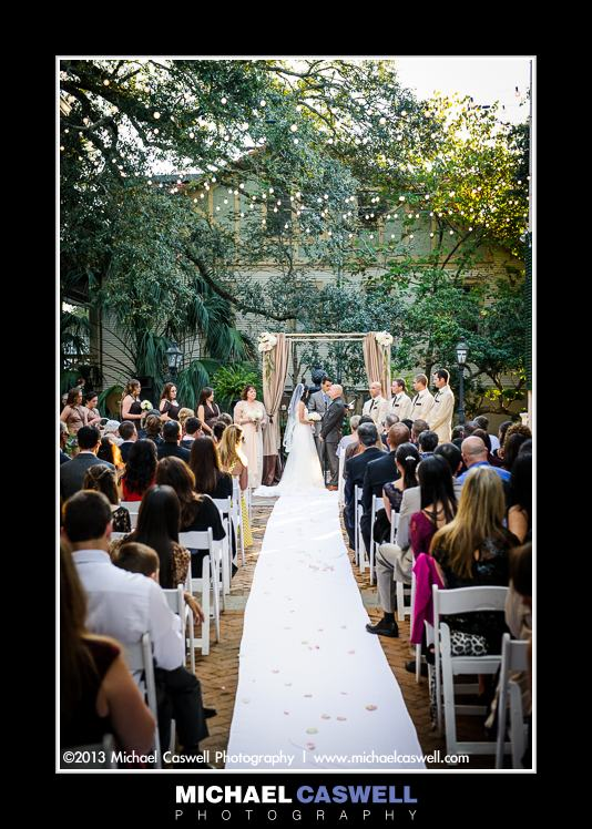 Wedding Degas House New Orleans