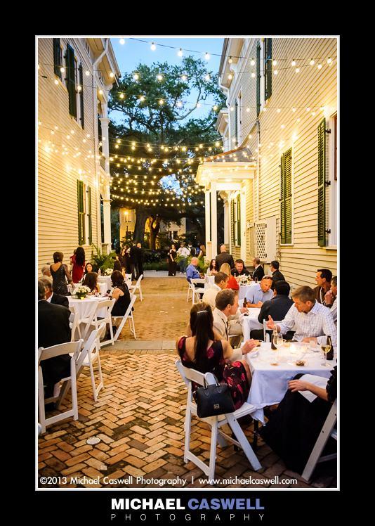 Wedding Reception At Degas Hous