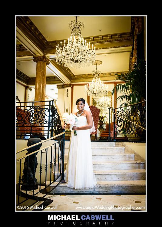 183 2592 Beautiful Bride In Le Pavillon Hotel Lobby
