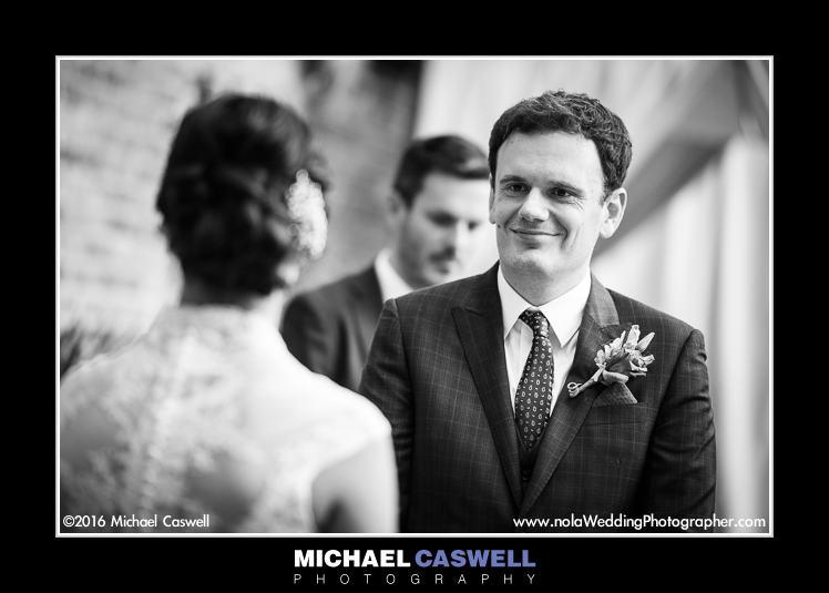 French Quarter Wedding Ceremony