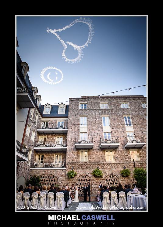 New Orleans Wedding Skywriting