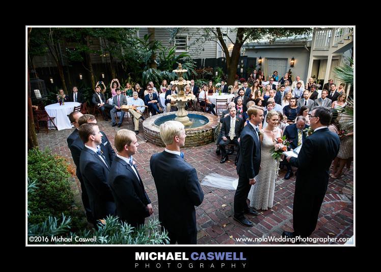 Terrell House Wedding Ceremony