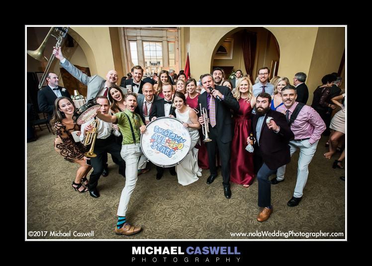 Bucktown Allstars Wedding Group Shot