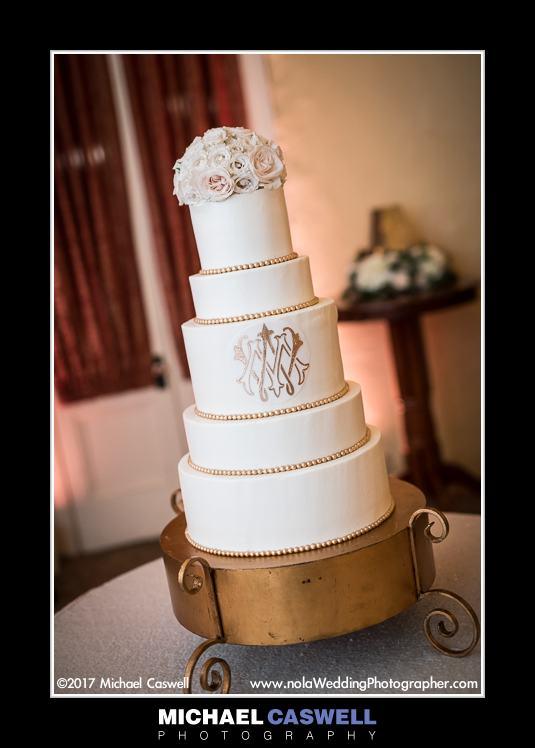 La Louisiane wedding cake