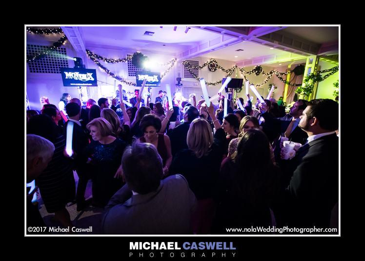 Mojeaux Band wedding reception