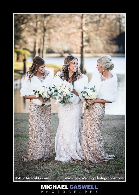 Bride plus two past brides