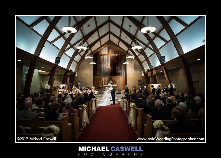 Trinity Episcopal Church wedding in Baton Rouge