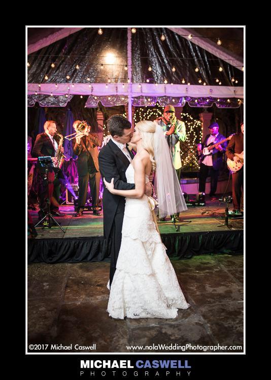 Wedding reception at Brennan