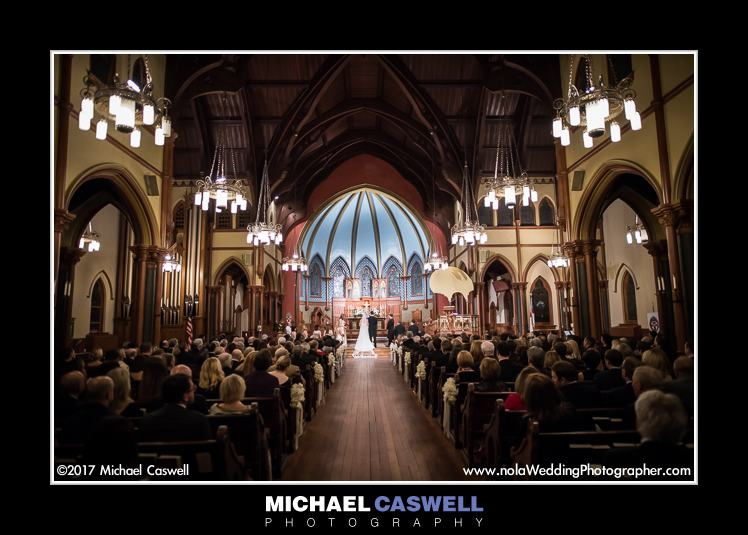 Christ Church Cathedral New Orleans Wedding Ceremony