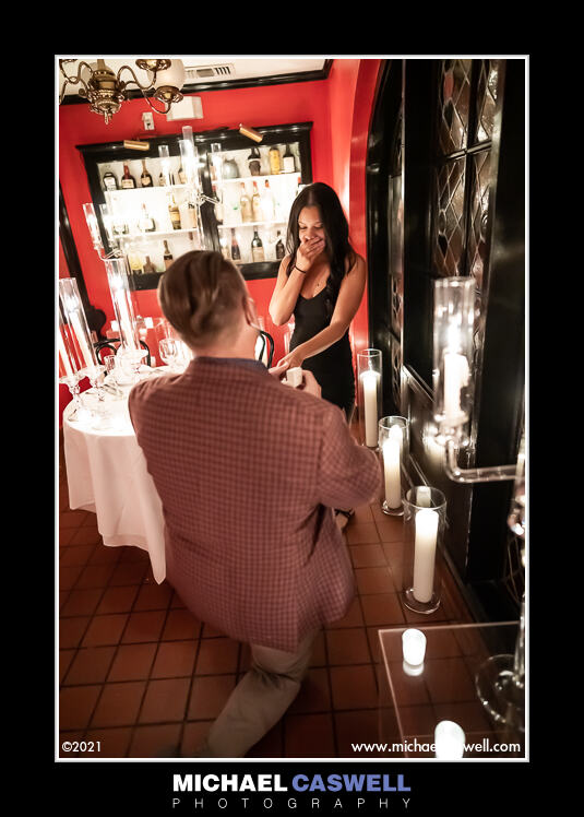 Read more about the article Bill's Marriage Proposal to Danielle at Antoines